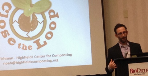"""Noah Fishman presenting: """"Community Sustainability and Community Composting: Understanding the Links"""""""